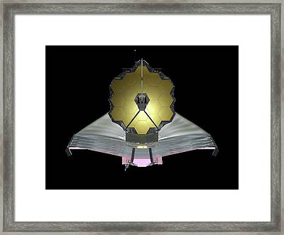James Webb Space Telescope Framed Print by Nasa