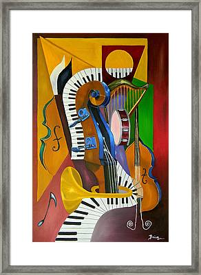 Jammin With Jc Framed Print