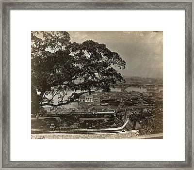 Japan Kobe, 1880s Framed Print