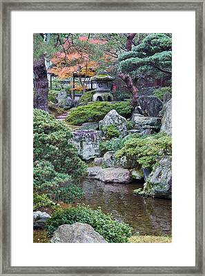 Japan, Kyoto, Kyoto Imperial Palace Framed Print
