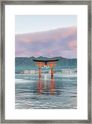Japan, Miyajima, Itsukushima Shrine Framed Print