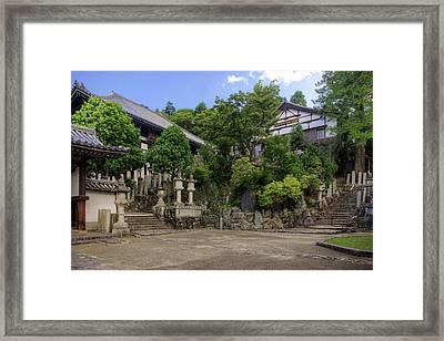 Japan, Nara, Nara Park Framed Print