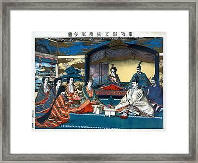 Japan Royal Wedding, 1900 Framed Print by Granger