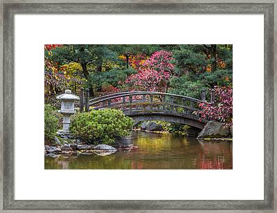 Japanese Bridge Framed Print