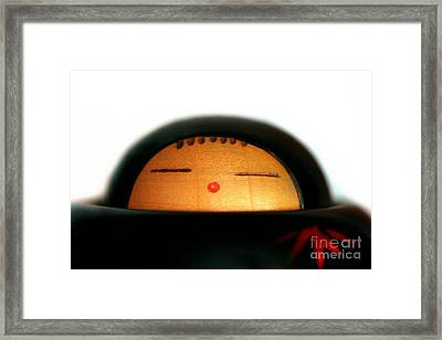 Framed Print featuring the photograph Japanese Doll by Henrik Lehnerer