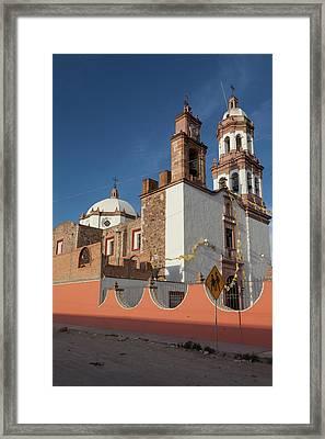 Jaral De Berrio Church, San Felipe Framed Print by Julien Mcroberts
