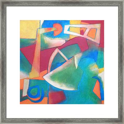 Jazz Framed Print by Diane Fine