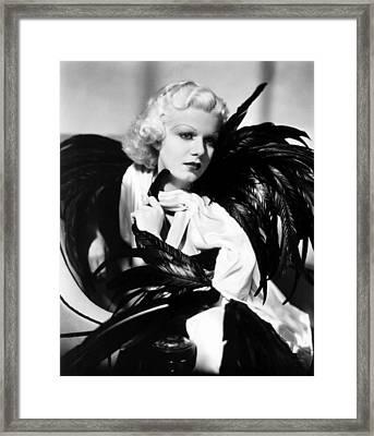 Jean Harlow, Ca. 1934-35 Framed Print