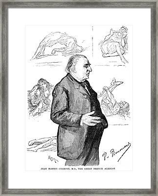 Jean Martin Charcot Framed Print by Granger