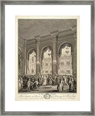 Jean-michel Moreau Le Jeune French, 1741-1814 After P. L Framed Print