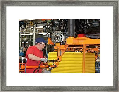 Jeep Grand Cherokee Assembly Line Framed Print