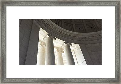 Jefferson Memorial Architecture Framed Print
