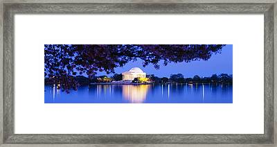 Jefferson Memorial, Washington Dc Framed Print by Panoramic Images