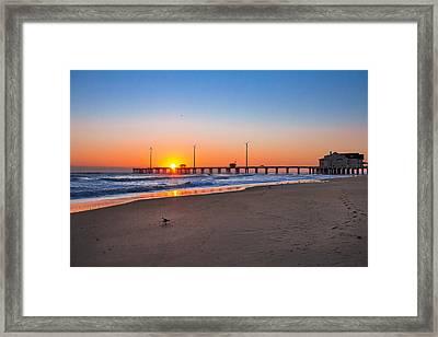 Jennettes Pier Framed Print