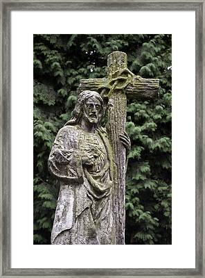 Jesus Christ. Framed Print by Fernando Barozza