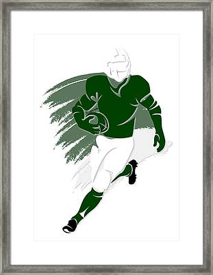 Jets Shadow Player2 Framed Print