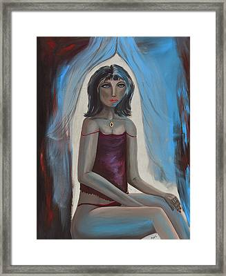 Jewel Of India Framed Print by Donna Blackhall