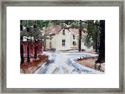 Jim Mocks House Framed Print