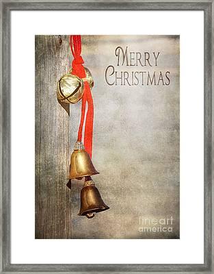 Jingle Bells Framed Print by Cindy Singleton