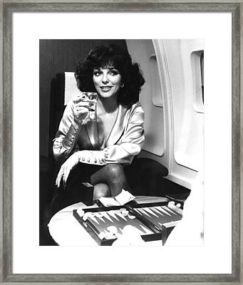 Joan Collins In The Bitch  Framed Print