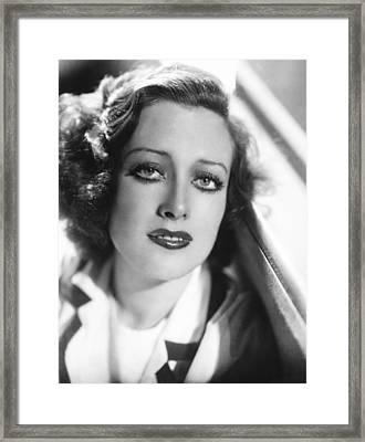 Joan Crawford, Ca. 1932-33 Framed Print
