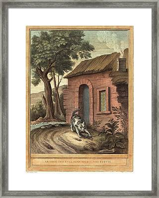 Johann Christoph Teucher After Jean-baptiste Oudry German Framed Print by Litz Collection