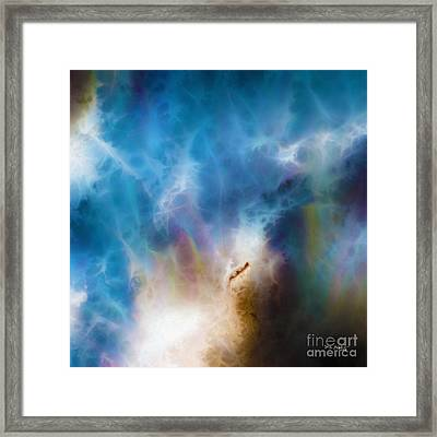 1 John 3 2. Gracious Uncertainty Framed Print by Mark Lawrence