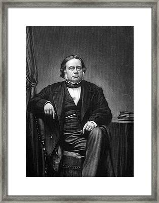 John Bright (1811-1889) Framed Print