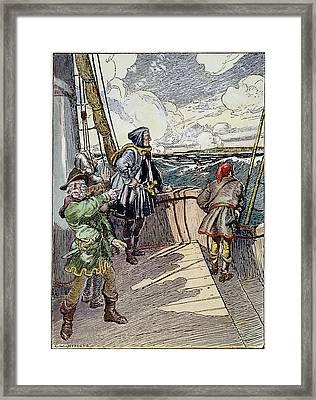 John Cabot (c1450-c1499) Framed Print