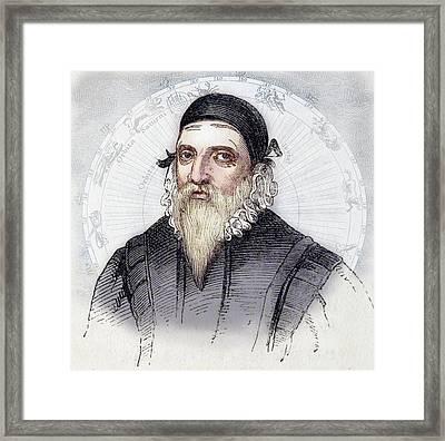 John Dee Framed Print