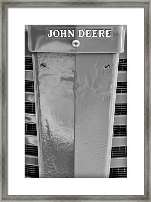John Deere Grill Framed Print by Susan Candelario