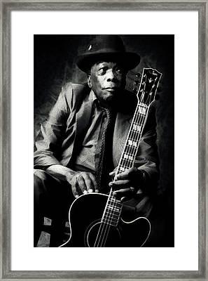 John Lee Hooker Framed Print by Martin Deane