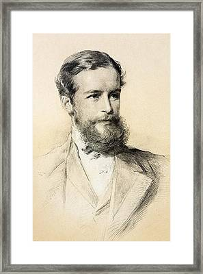 John Lubbock Framed Print by Paul D Stewart
