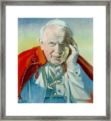 Saint John Paul II Framed Print
