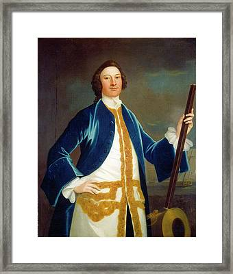 John Wollaston American, Active 1742-1775 Framed Print
