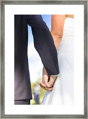 Joined Together As Man And Wife Framed Print