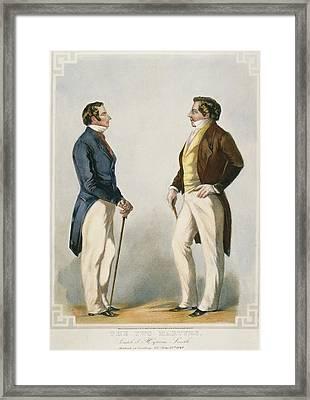 Joseph & Hyrum Smith Framed Print by Granger