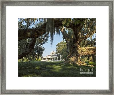 Joseph Jefferson Home Framed Print by Kelly Morvant