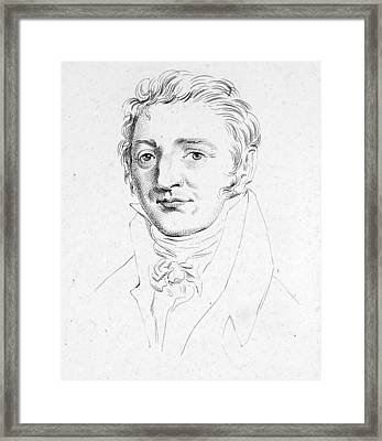 Joseph Louis Gay-lussac (1778-1850) Framed Print