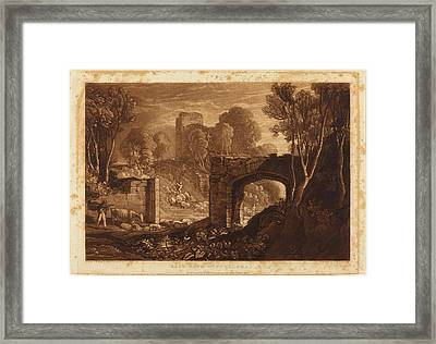 Joseph Mallord William Turner And Samuel William Reynolds Framed Print by Quint Lox