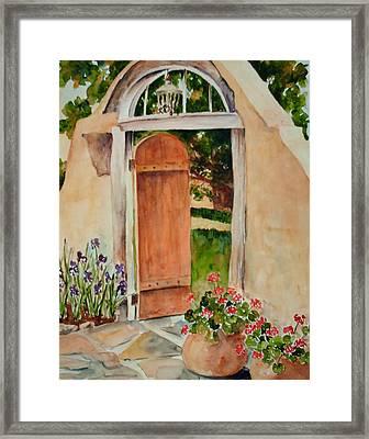 Josephina's Gate Framed Print