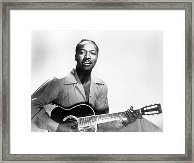 Josh White (1914-1969) Framed Print by Granger