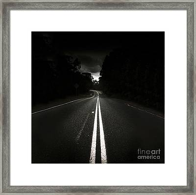 Journey Of Distance Framed Print by Jorgo Photography - Wall Art Gallery