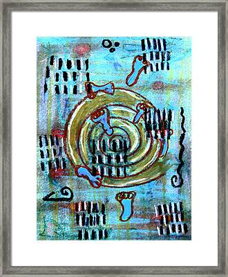 Journey To True Self Framed Print by Patricia Januszkiewicz