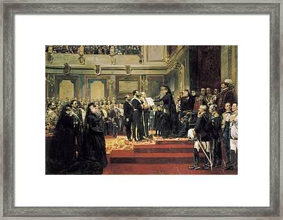 Jover Y Casanova, Francisco 1836-1890 Framed Print by Everett