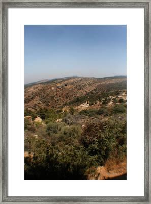 Judean Hills Framed Print by Doc Braham