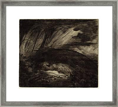 Jules-ferdinand Jacquemart French, 1837 - 1880 Framed Print