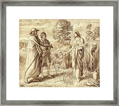 Julius Schnorr Von Carolsfeld German, 1794 - 1872 Framed Print by Quint Lox