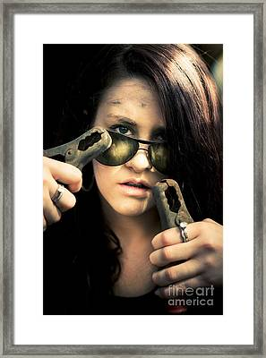 Jump Start Framed Print by Jorgo Photography - Wall Art Gallery