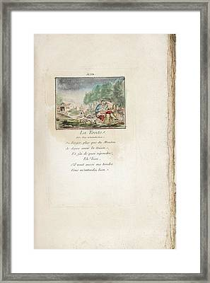 June Framed Print by British Library